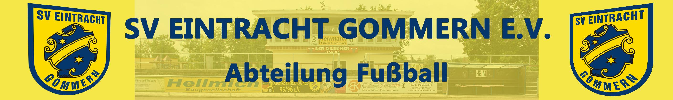 Eintracht Gommern Abt Fussball